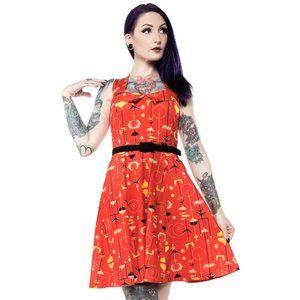 Sourpuss Midcentury Veronica Dress